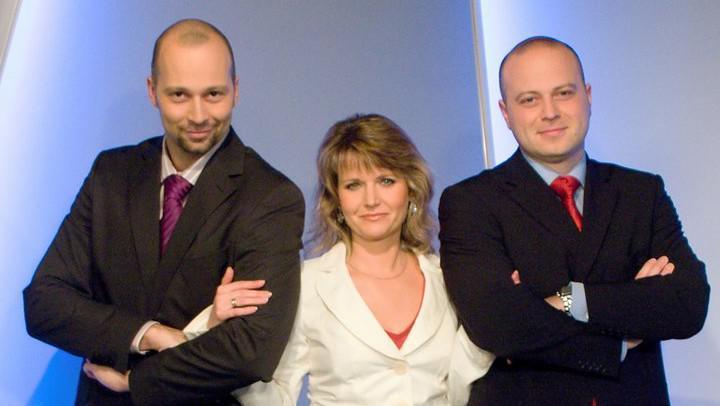 Michala Filu (vpravo) diváci znají jako moderátora Událostí v regionech z Brna