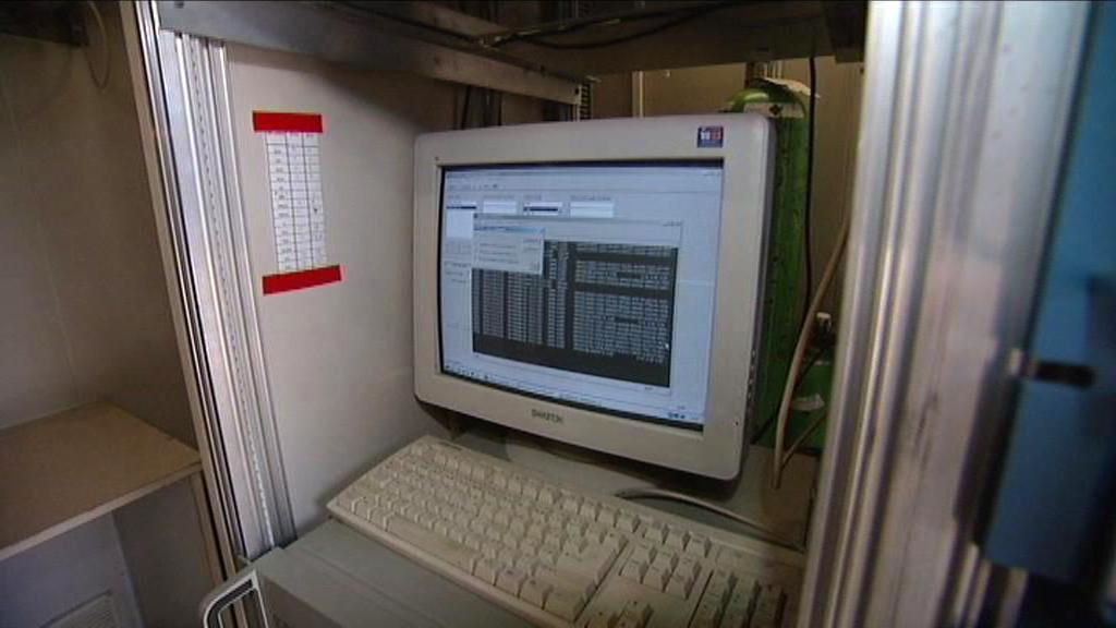 Měřící stanice smogového varovného systému