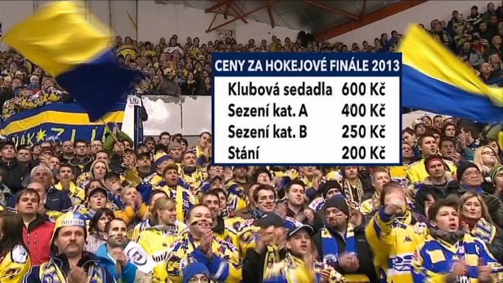 Ceny vstupenek na finále extraligy
