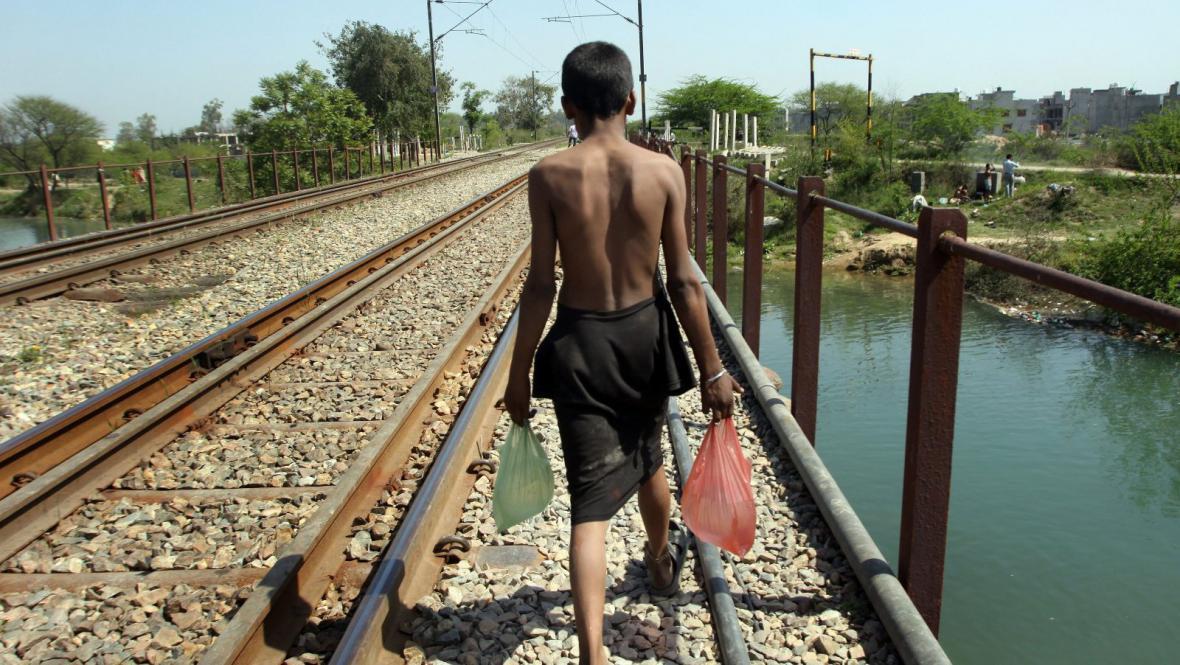 Igelitové tašky v Indii