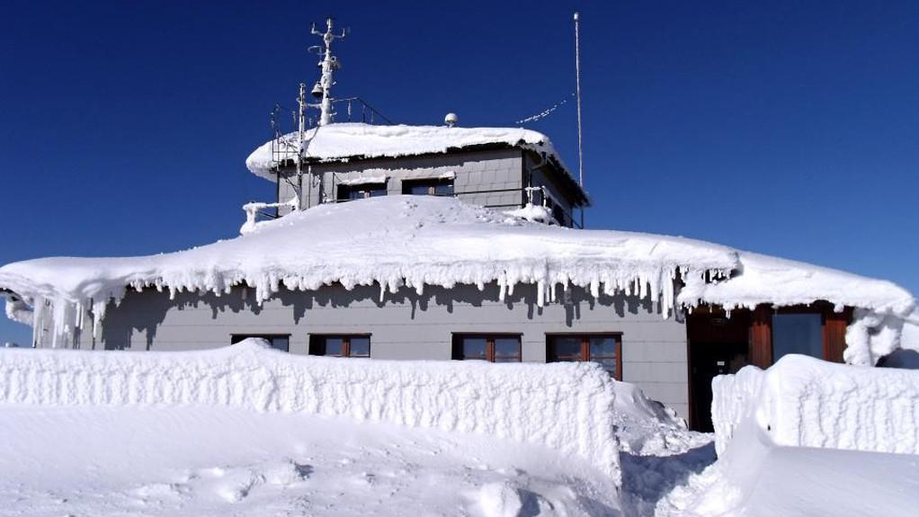 Lysá hora - meteorologická stanice