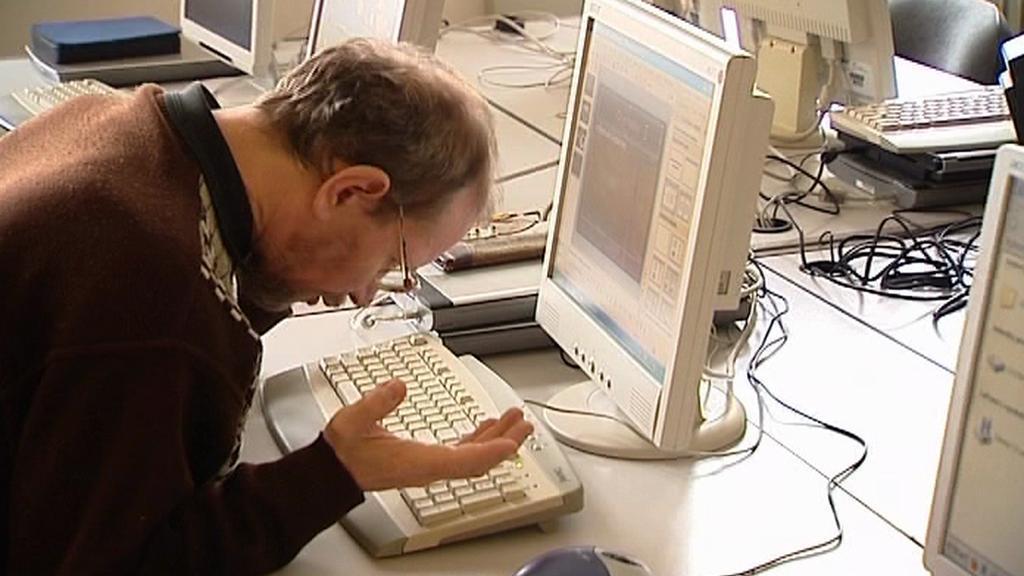 Nevidomý při počítačové výuce