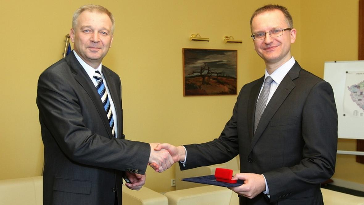 Vlastimil Picek a Daniel Koštoval