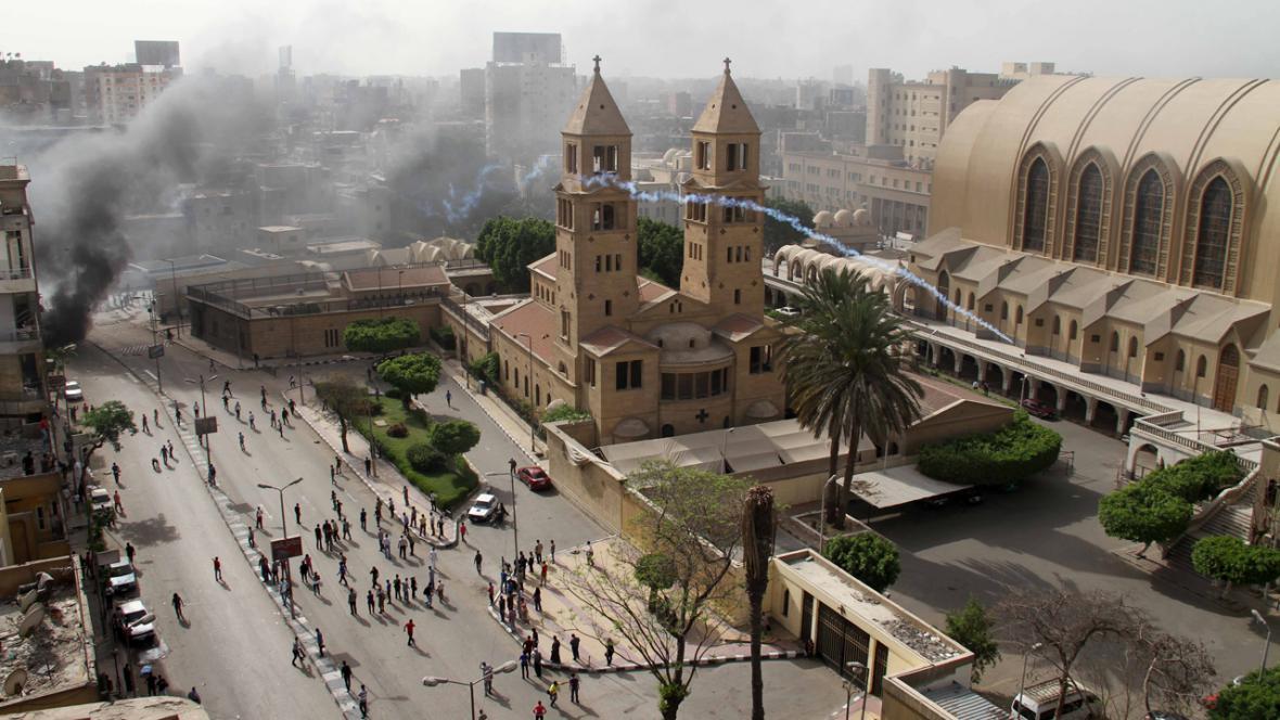 Káhirské střety mezi křesťany a muslimy