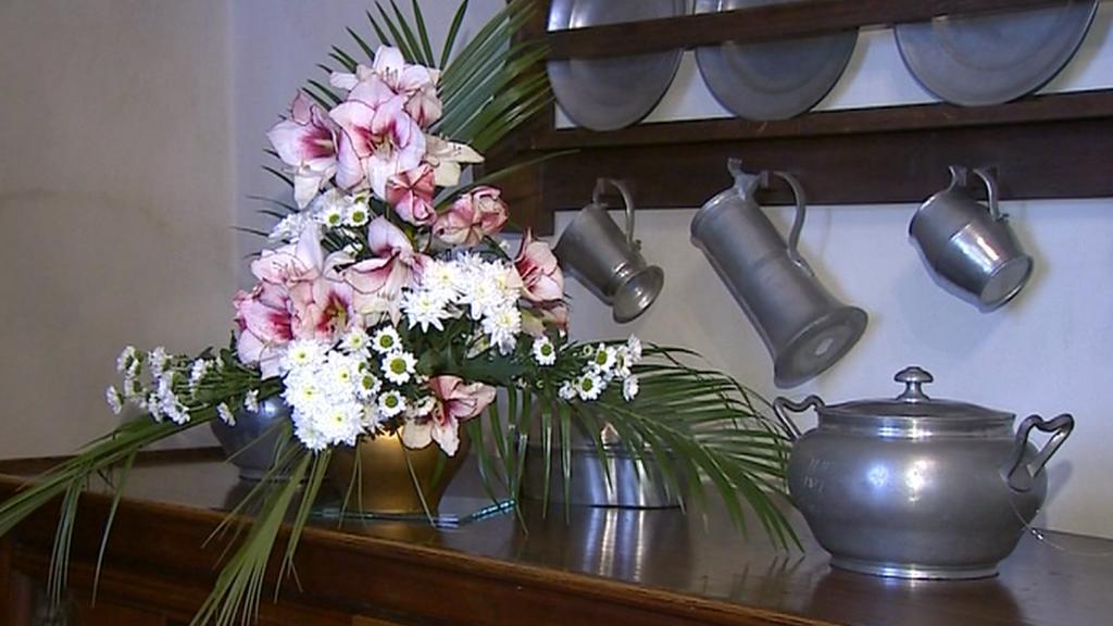 Výstava květin na zámku v Třeboni