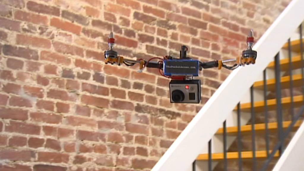 Bezpilotní letadlo s kamerou
