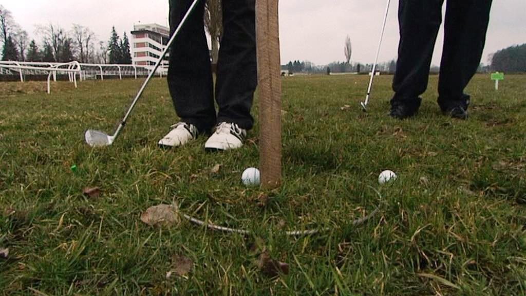 Golf na dostihovém závodišti