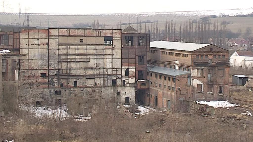 Oslavanská elektrárna u Brna