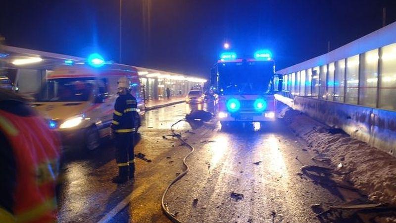 Dopravní nehoda v Ostravě