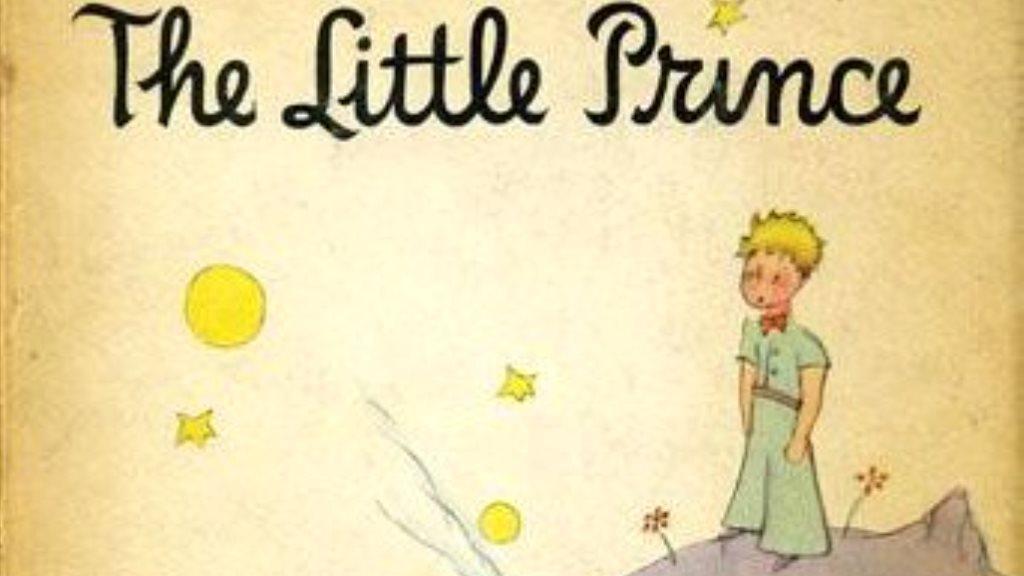 Kniha Malý princ v angličtině