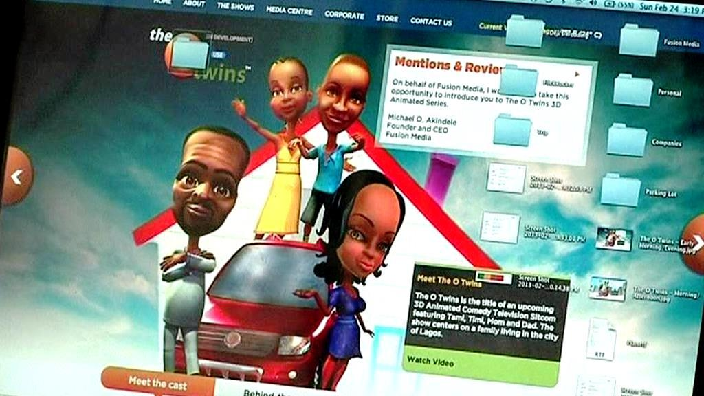 Animovaný sitcom
