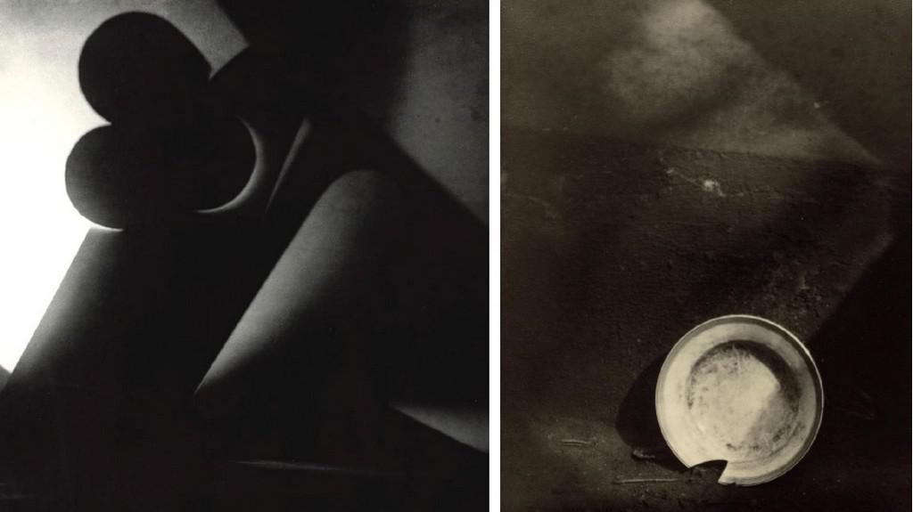 J. Rössler - Světelná abstrakce / J. Sudek Rozbitý talíř