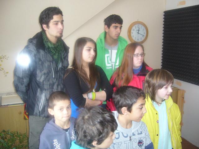 Z výletu Dětského domova v Nové Vsi u Chotěboře