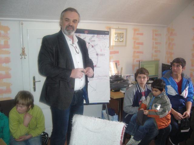 Z akce Dětského domova v Nové Vsi u Chotěboře