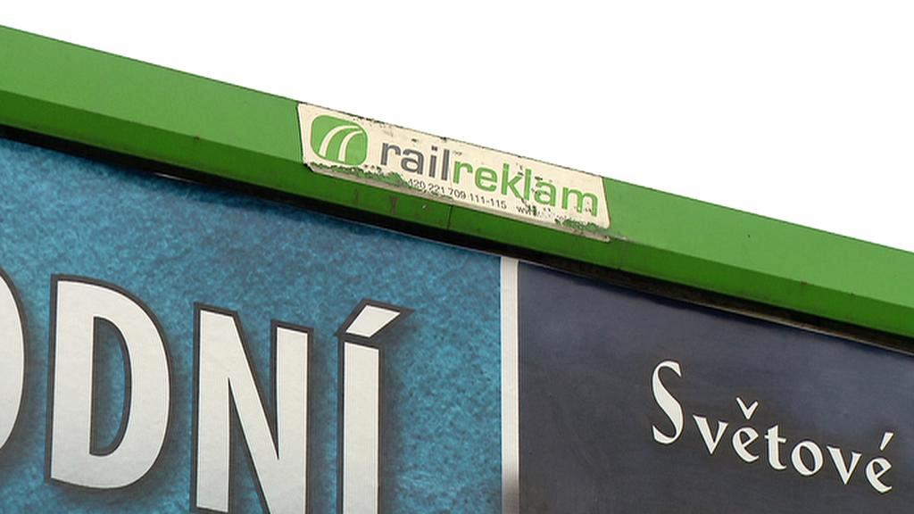 Reklama u kolejí
