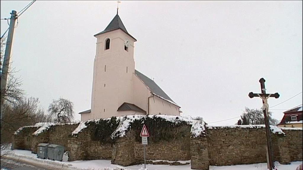 Kostel v Hrozové na Osoblažsku