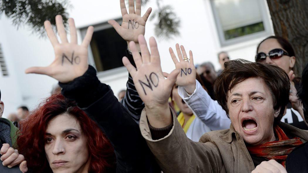 Demonstrace v Nikósii
