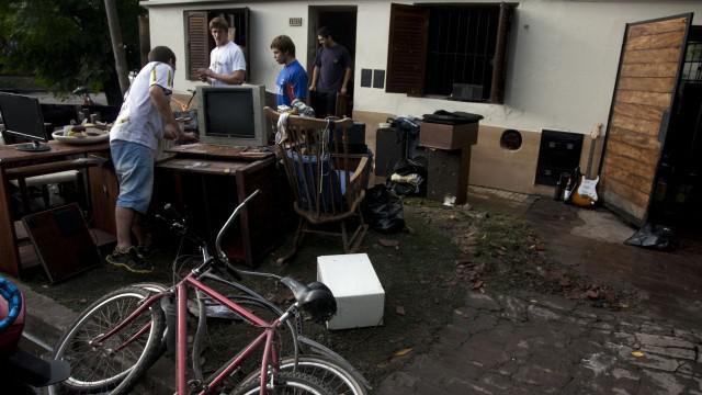 Následky povodní v Argentině
