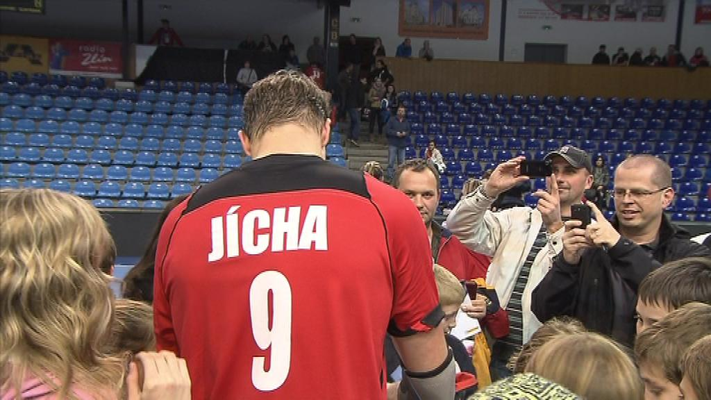 Filip Jícha se poprvé představil v kapitánském dresu