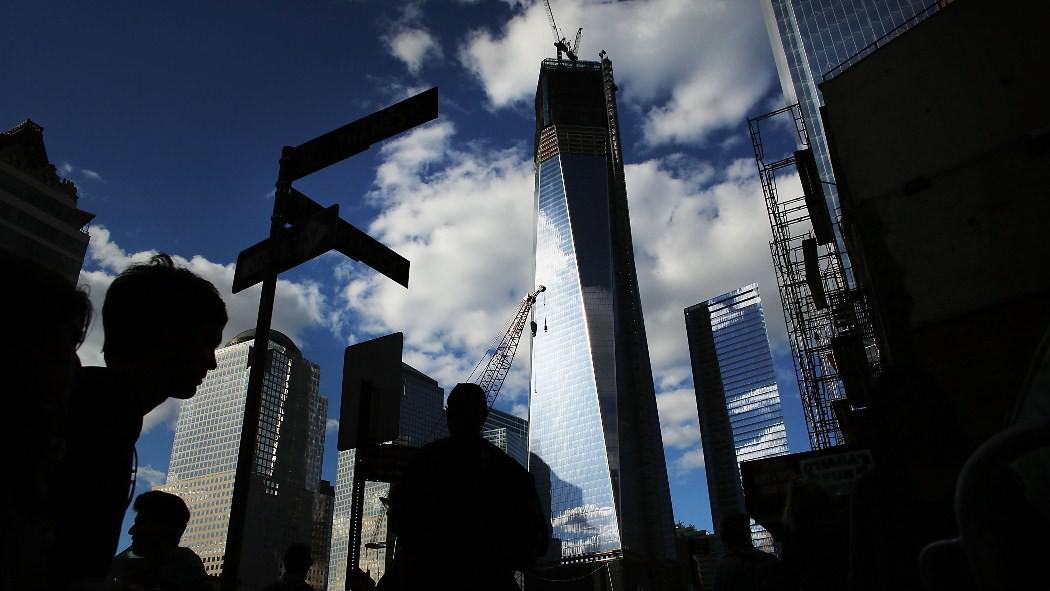 Budova nového Světového obchodního centra
