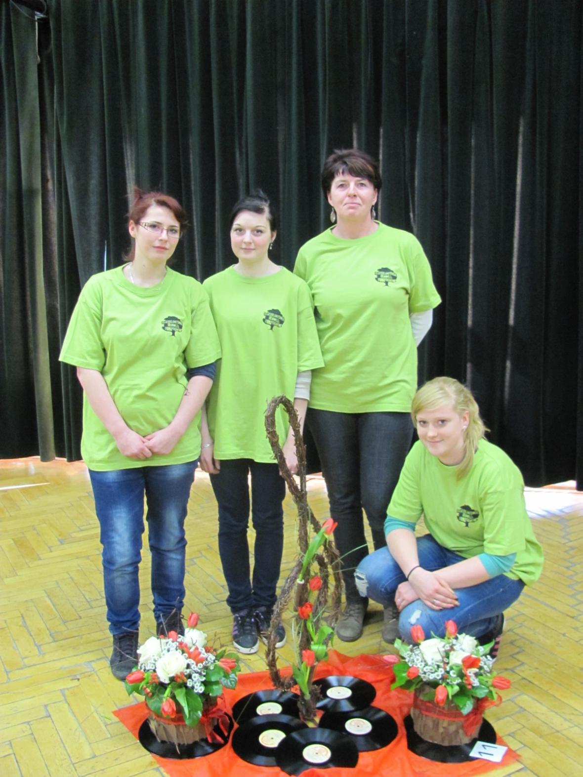 Foto z archivu zahradnické školy Kopidlno
