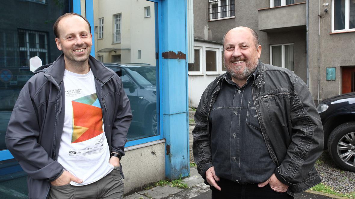 Martin Novosad a Arnošt Vašíček