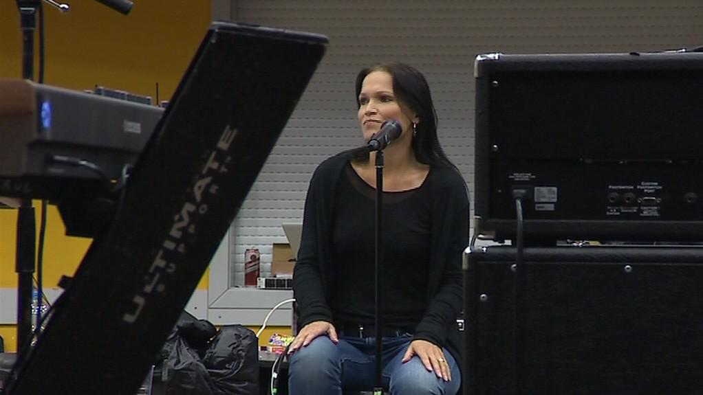 Tarja se připravuje na koncert