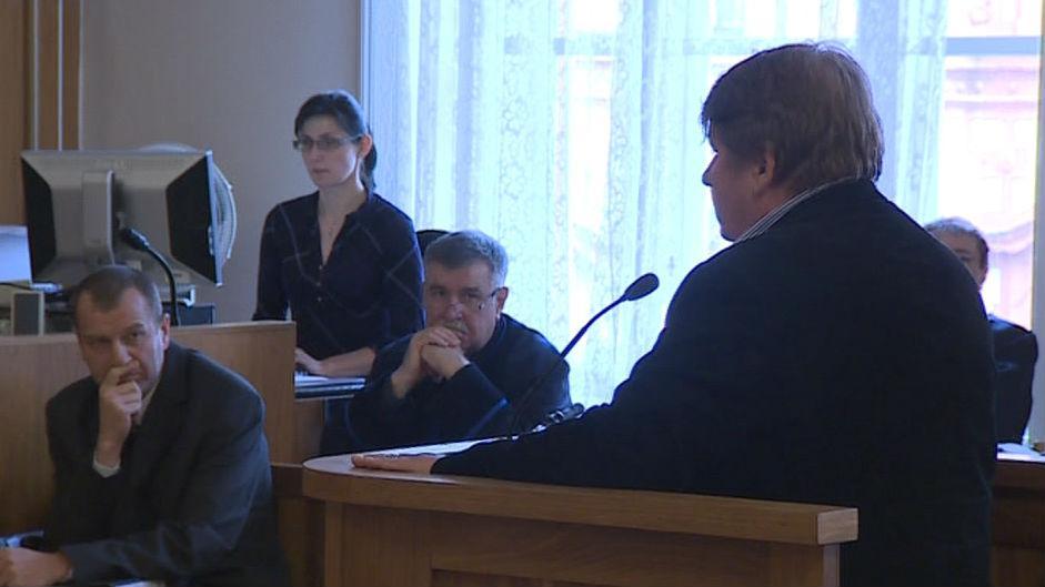 Milan Venclík svědčil u soudu s Toflovým gangem přibližně hodinu