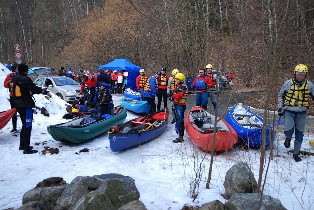 Vodácký sjezd řeky Chrudimky
