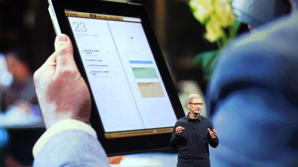 Tim Cook představuje nový iPad