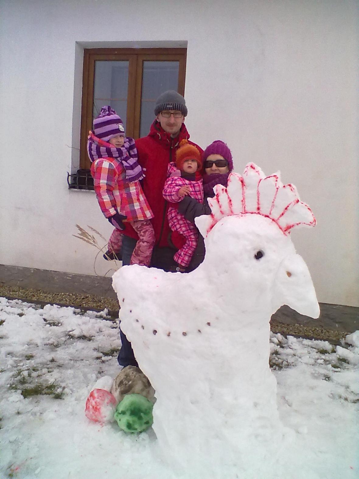 Soutěž o nejhezčího velikonočního sněhuláka
