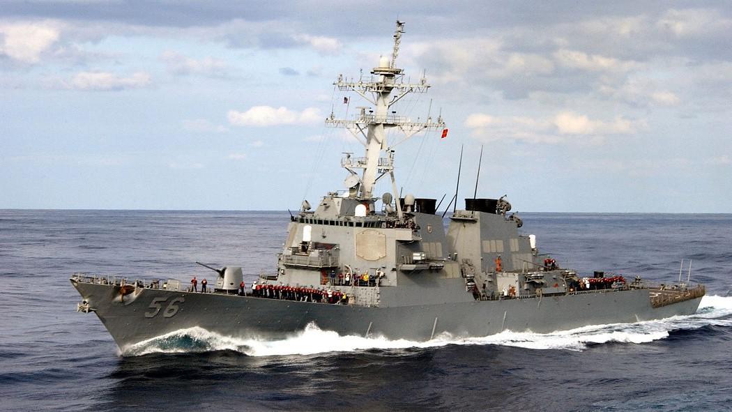 Torpédoborec USS McCain