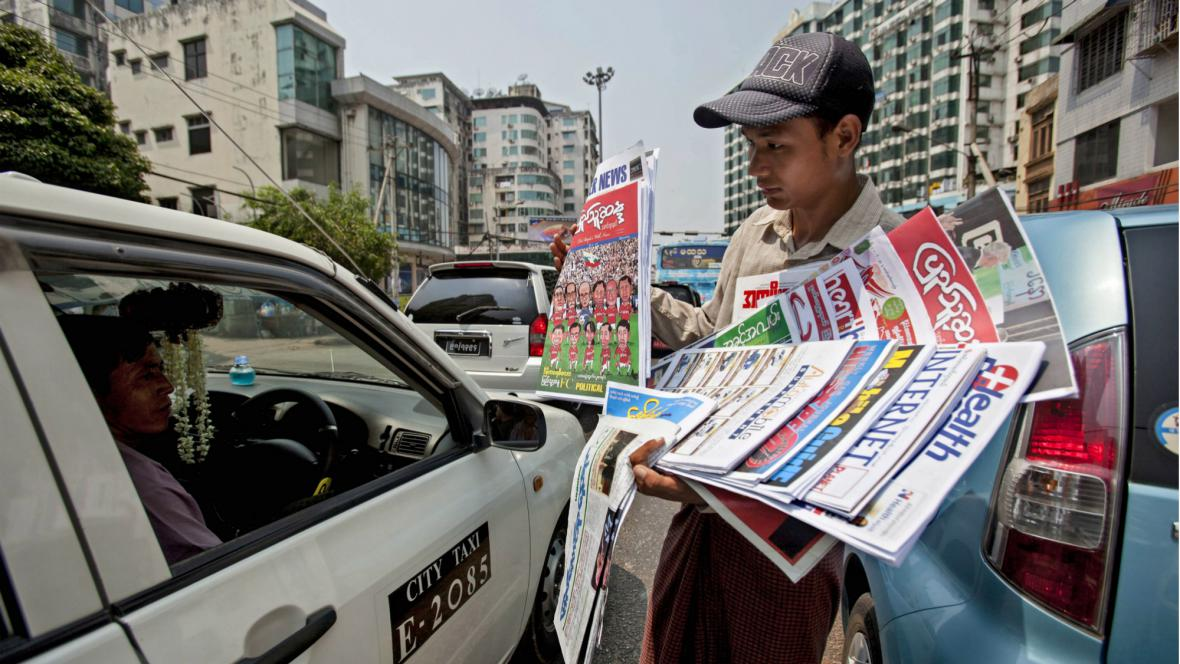 V Barmě opět vyšly soukromé deníky