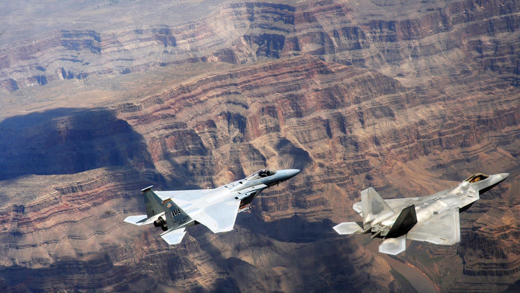 Stíhací letouny F-22 Raptor