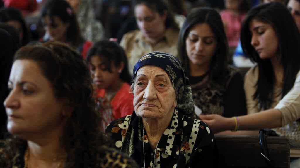 Velikonoční bohoslužba v irácké Basře