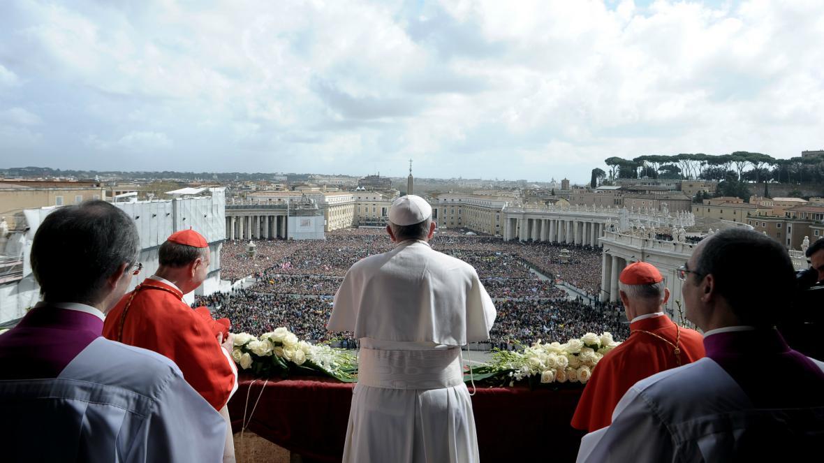 Papež udělil požehnání Urbi et Orbi
