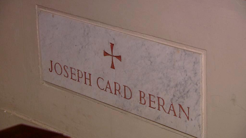 Hrobka kardinála Josefa Berana ve Vatikánu
