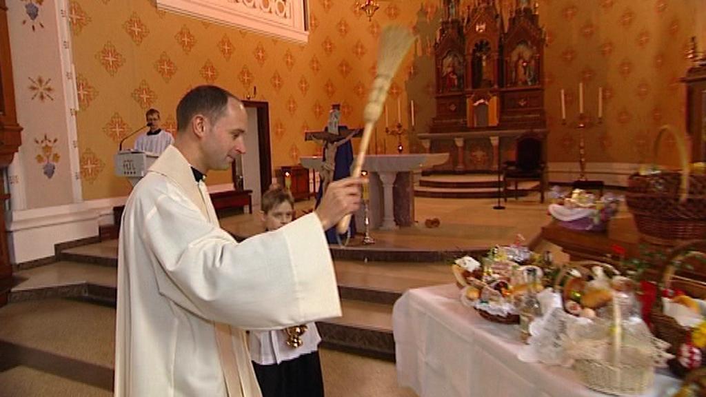 Svěcení velikonočních pokrmů