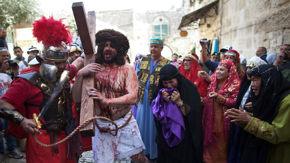 Velký pátek v Jeruzalémě