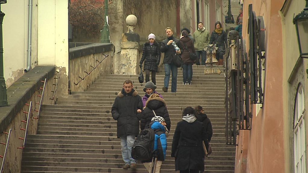 Nové zámecké schody
