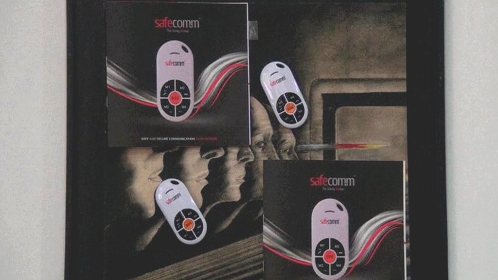 Bezpečný mobilní telefon Safecomm