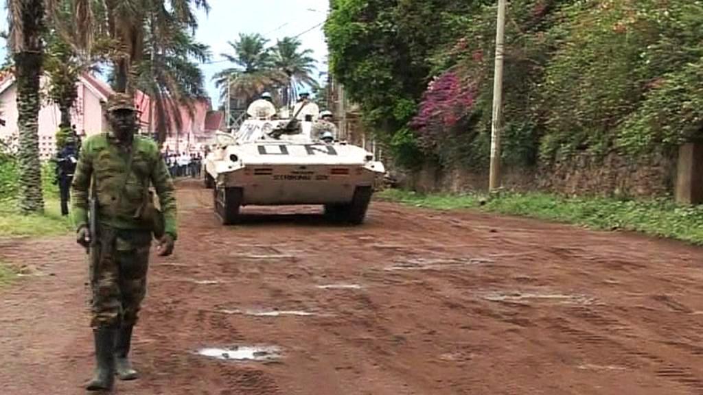 Jednotky OSN v Africe