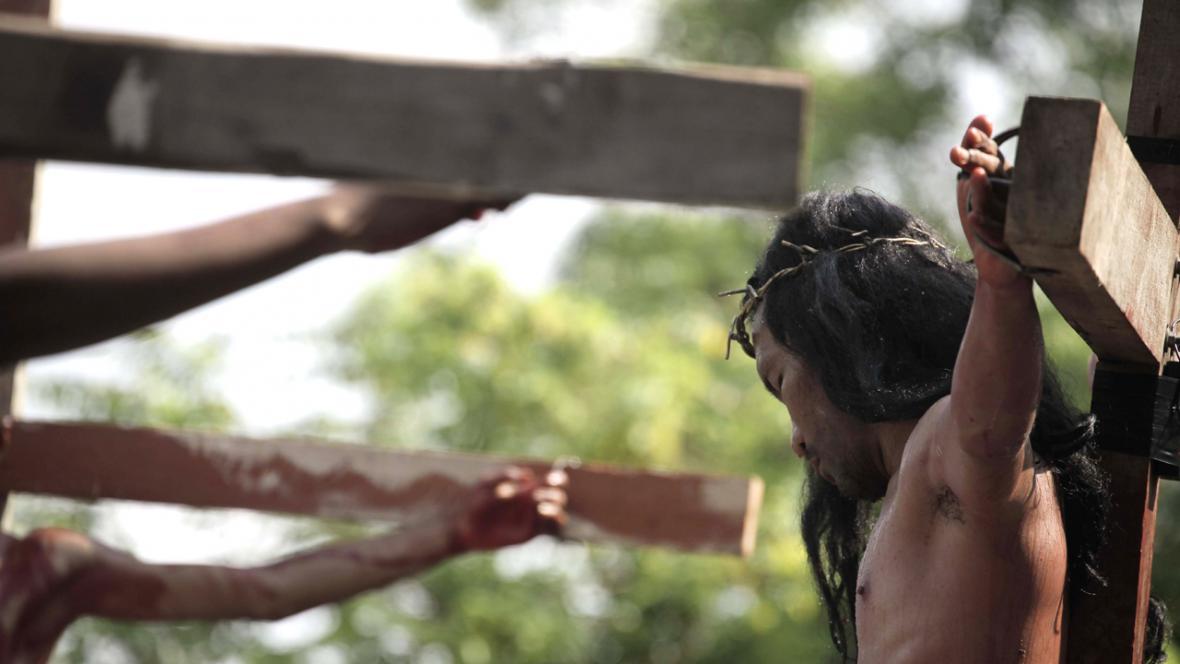 Ježíš Kristus na kříži