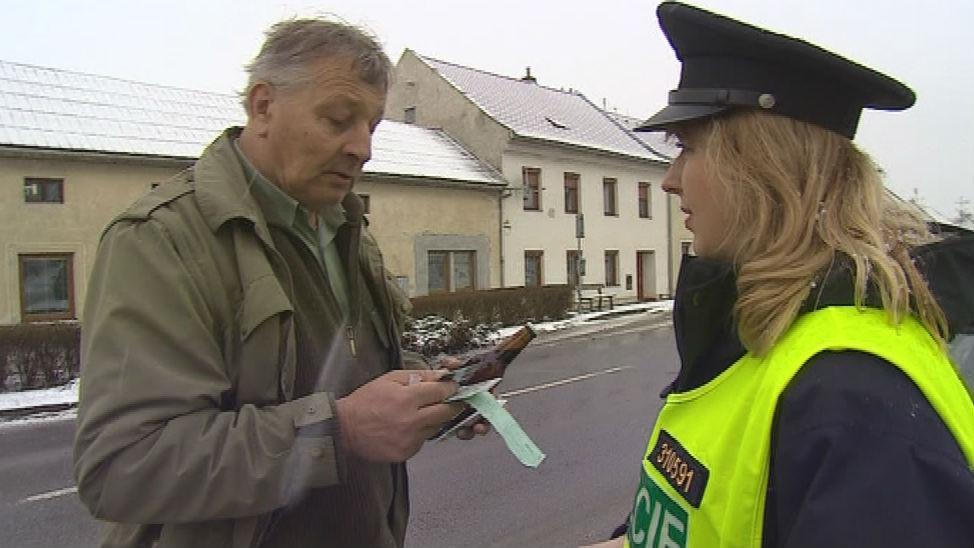 Po negativním výsledku testu dostal řidič Jan Zapletal za odměnu nealko pivo