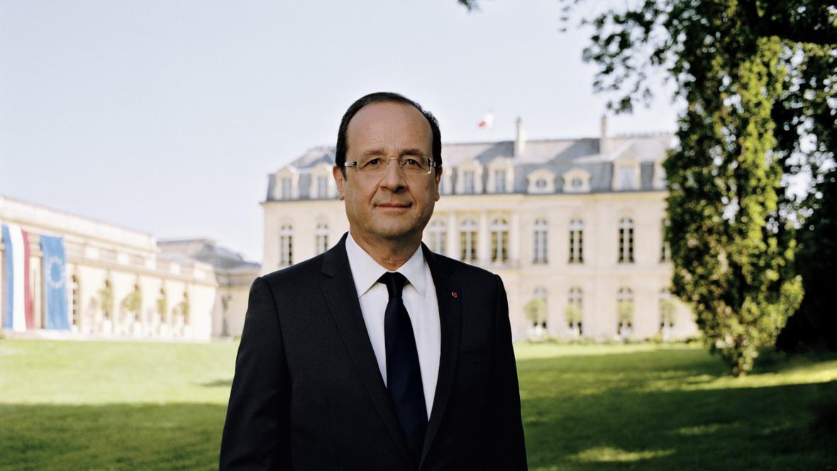 François Hollande - oficiální portrét