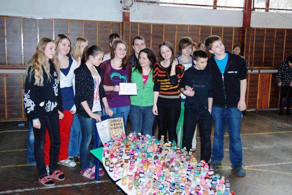 Ze soutěže na ZŠ v Ronově n. Doubravou