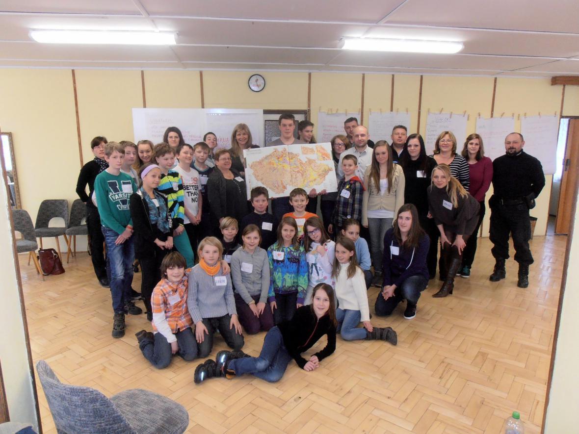 Školní parlament v Mníšku diskutoval o územním plánu