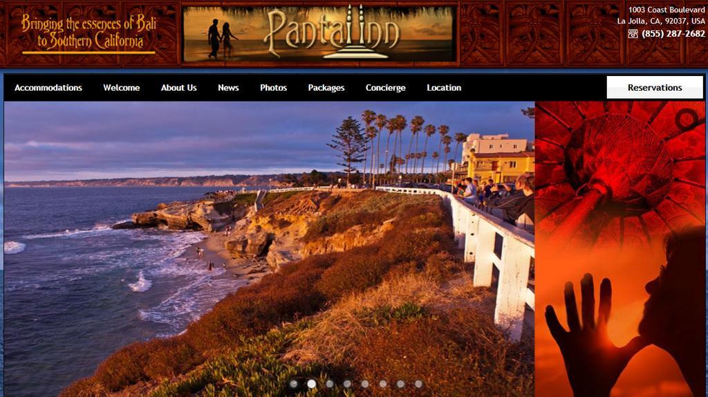 Americký hotel Pantai Inn