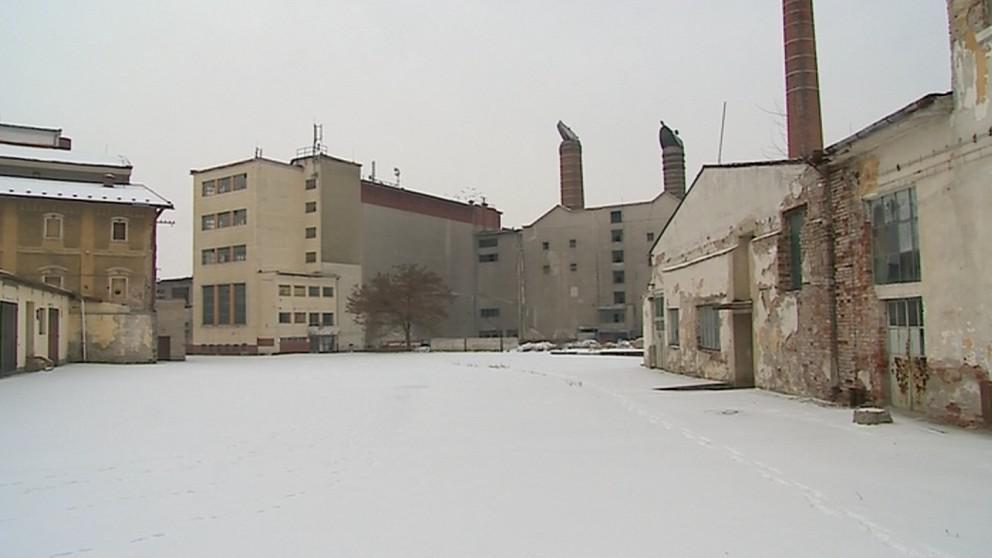 Jarošovský pivovar chátrá