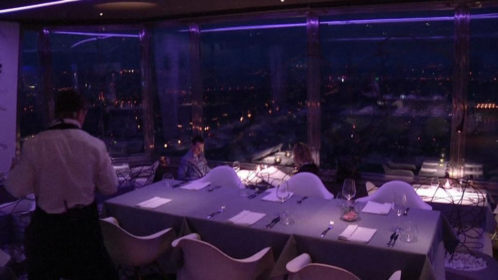 Restaurace na žižkovské televizní věži
